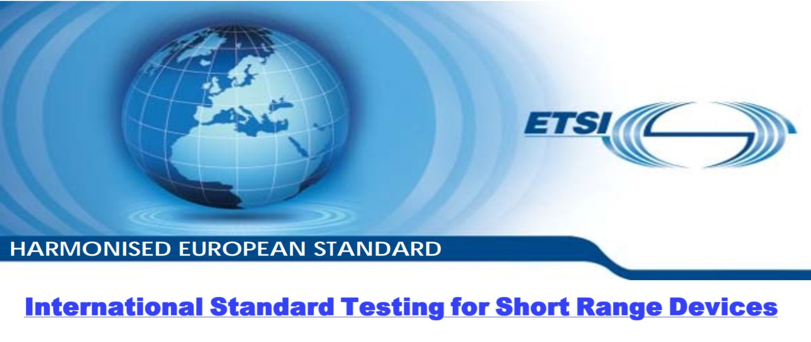 Tests in accordance with international standards